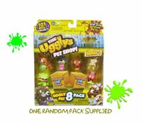 The Ugglys Pet Shop Figurines 8 Pack (Styles Vary) Two Surprise Pets