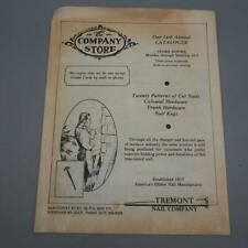 Vintage Tremont Nail Company Factory Store Catalogue Brochure 1980's