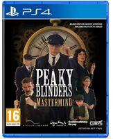 PEAKY BLINDERS MASTERMIND PS4 NUEVO PRECINTADO PRECINTADO CD FÍSICO