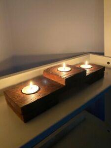 Handmade Wooden Tealight Holder