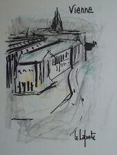 Georges LAPORTE (1926-2000) Technique mixte/papier Vienne P1792