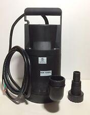 1hp, 4000GPH, 900w, 115v Pond Pump Sump Pump Utility Drainage Pump Clean Water