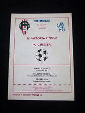 Orig.PRG   EC 2  1994/95   VIKTORIA ZIZKOV - CHELSEA FC  !!  SELTEN