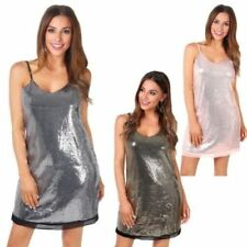 Christmas Polyester Dresses for Women with Sequins