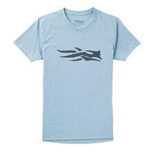 Sitka Womens Logo Tee SS Slate Blue
