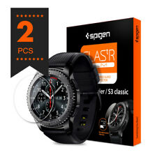 Samsung Galaxy Gear S3 Tempered Glass Screen Protector Film Spigen GLAS.tR Slim