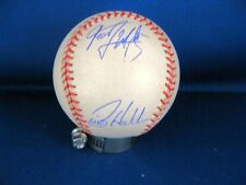 Billy Hatcher, Lopez & Martinez Signed American League Ball with Personal COA