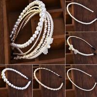 Luxury Big Pearl Headband Ladies Hairband Hair Hoop Girls Hair Wedding Jewelry