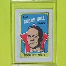 "BOBBY HULL  1971-72  "" STORY BOOKLET ""  #1   Chicago BlackHawks"