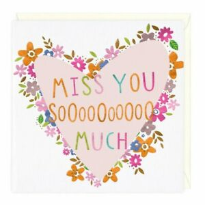 Miss You So Much Eco Card Whistlefish mix any cards for discount