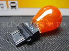 10pc Philips OEM 3157NA 3157 AMBER 12V 27/7W Orange Indicator light globe bulb