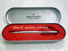Pierre Cardin Paris Kriss Bright Chrome Ball Pen Ballpen Brand New Original