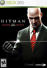 Hitman: Blood Money (Xbox 360 2006) Complete CIB Video Game w/ Manual & Case