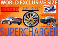 Honda Ridgeline Odyssey V6 Truckonator Air Intake Supercharger Fan Spinner Kit