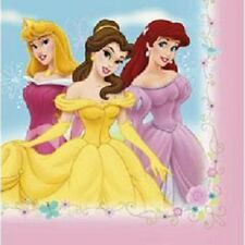 Disney Princess Napkins Fairy Tale Friends Luncheon Birthday Party 16 Ct
