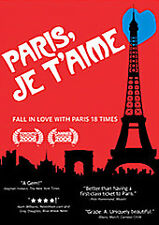 Paris, Je T'Aime (Paris, I Love You) - DVD Steve Buscemi, Juliette Binoche New