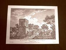 Veduta della tomba di Terone ad Agrigento Sicilia Saint-Non