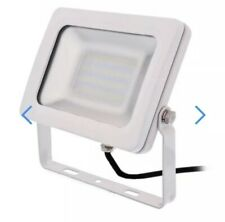 KSR LIGHTING KSR5265WHT SIENA High Quality LED flood  White 30w 6000k Security