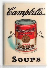 Campbell's Tomato Soup FRIDGE MAGNET (2 x 3 inches) can label sign food campbell