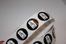 10 30mm Black NXP NTAG216 PVC NFC Tag Sticker Samsung Nokia Sony LG Android