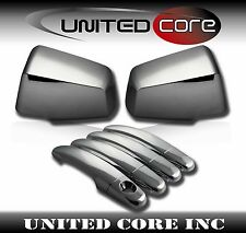09-15 Chevy Traverse Saturn Outlook Chrome Mirror Chrome 4 Door Handle Cover