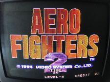Aerofighter 2 MVS Neo Geo cart for Jamma Arcade game 100% working & Original