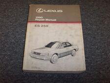 1990 Lexus ES250 Sedan Workshop Shop Service Repair Manual Book 2.5L V6