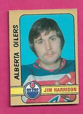 1972-73 OPC WHA # 292 OILERS JIM HARRISON  HIGH # GOOD CARD (INV# C6735)
