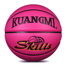 Kuangmi Pink Training Basketball Kids Chlid Indoor/Outdoor Size 5 balls