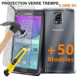 FILM PROTECTION ECRAN VERRE TREMPE SAMSUNG +50 Choix A3/A5/A6/A7/A8/A9/Prime/C9