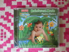NEW Fisher Price Animals of The Rainforest Music Playtime Rhythms CD Kids Nature