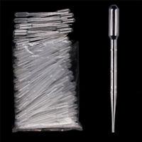 100 x 3ml pipettes PASTEUR Jetables (Gradué) transfert Pipettes eye dropper
