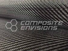 "Commercial Grade Carbon Fiber Cloth Fabric 2x2 Twill 50"" 3k 6oz/203.43gsm"