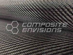 "Commercial Grade Carbon Fiber Cloth Fabric 2x2 Twill 50"" 3k 6oz/203.43gsm"