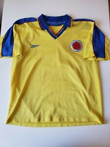 Reebok 1998-01 Vintage Colombia Home Jersey Men Size XL