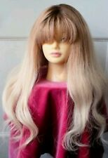 Brand New Lace Front human hair 24 inches ombre wig  Top Quality
