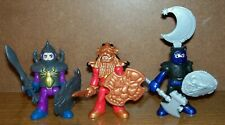 Fisher Price Imaginext Knights with Weapons - (Spider, Lion & Wolf Knights)