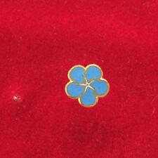 Franc maçonnerie lot de 5 pin's myosotis, lot of  5 masonic pins