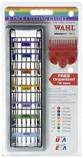 Wahl 8 Hair Clipper Color Coded Cutting Guides & Organizer Tray 3170-400