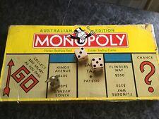 Australian Edition Monopoly Original 1992
