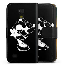 Samsung Galaxy S4 mini Tasche Hülle Flip Case - Minnie Kissing