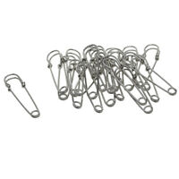 20pcs Large Steel Safety Pins Craft Sewing Knitting Office Home Crafting Pin