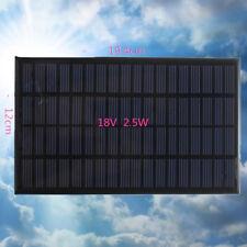 Mini 18V 2.5W Solar Panel Cell Polycrystalline Silicon DIY Module solar lights