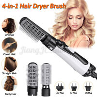 4 in 1 One Step Hair Dryer Brush Comb Volumizer Straightener Curler Styling  J