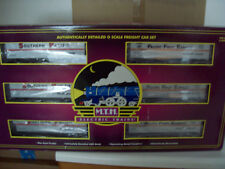MTH SOUTHERN PACIFIC FLAT CAR W/40' TRAILER SET