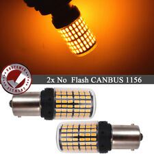 2X CAN-bus 1156 7506 P21W LED Bulbs Flashing Signal Light No Error Turn Signal