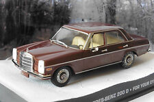 MERCEDES 200D FOR YOUR EYES ONLY JAMES BOND 007 UNIVERSAL HOBBIES 1/43 FABBRI