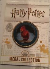 Harry Potter Medal Collection Magical Creatures Fawkes