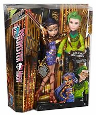 NEW Monster High Boo York Cleo De Nile & Deuce Gorgon Doll Comet Crossed Couple