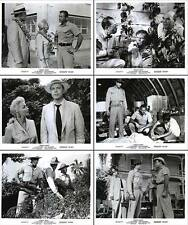 JUNGLE HEAT original 1957 lobby still photos LEX BARKER/MARI BLANCHARD
